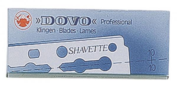 Dovo Shavetten Klingen - 10 Stück - Lange Ausführung